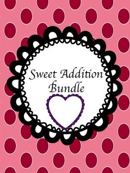 Valentines Visual Addition Bundle