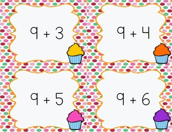 Sweet Addition Facts Fluency Tests 0-12 Pack and Addition Fact Flash Cards