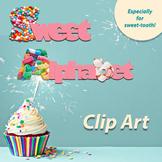 Sweet Alphabet Clip Art