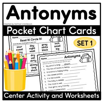 Sweet Antonyms - Set 1