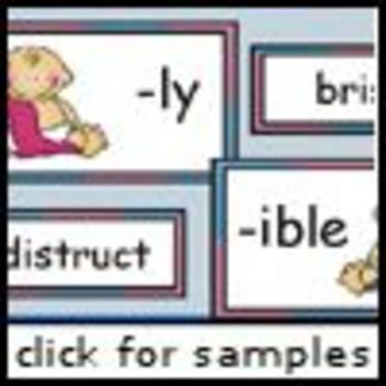 Sweet Baby Suffixes (-ly, -ible)