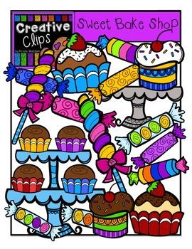 Sweet Bake Shop {Creative Clips Digital Clipart}