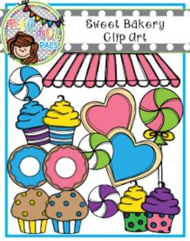Sweet Bakery Clip Art (Polka Dots and Pals)
