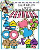 Sweet Bakery Clip Art (Polka Dots and Pals)