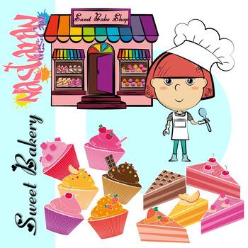Sweet Bakery Clipart