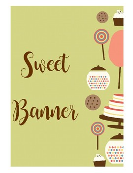 Sweet Banner