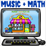 Sweet Beats Candy Shop - Distance Learning - Easel Activity