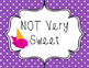 Sweet Behavior Chart - Candy Themed