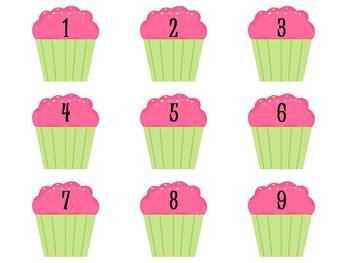 """Sweet Behavior"" Management System - green&pink cupcakes"