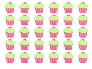 """Sweet Behavior"" Management System - pink cupcakes"