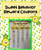Sweet Behavior Pineapple Classroom Reward Coupons