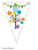 Sweet Birds Themed Buntings- Customize Your Own Banner!