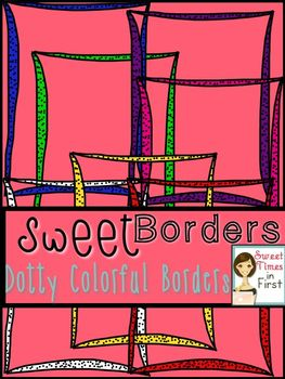 Dotty Colorful Borders