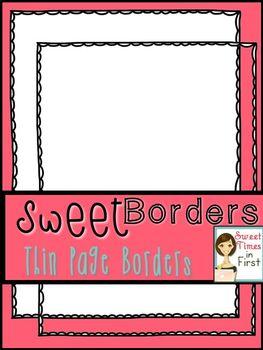 Thin Paper Borders