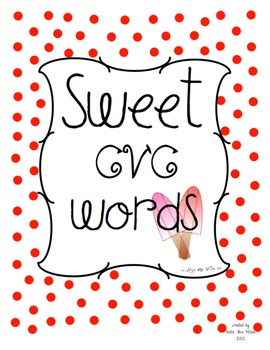 Sweet CVC Words