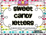 Sweet Candy Letters