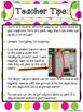 Sweet Candy Themed Classroom Subject/Agenda/Schedule & Bla