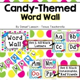 Sweet Candy Themed Word Wall Headers, Signs, and Title Pennants