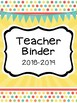 Sweet & Cheerful Teacher Binder Set (Everything You Need t