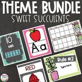 Sweet Succulents   Back to School Bundle