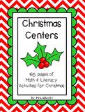First Grade Centers: Christmas