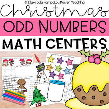 Sweet Christmas Odd Numbers
