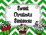 Sweet Christmas Sentences ~ Types of Sentences Sort  COMMON CORE ALIGNED