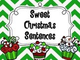Sweet Christmas Sentences ~ Types of Sentences Sort  COMMO