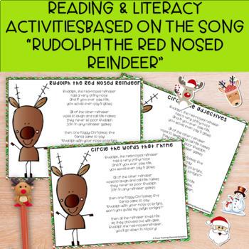 "Sweet Christmas  ""Rudolph the Red-Nosed Reindeer"" #ATeachersHalfOffDay"