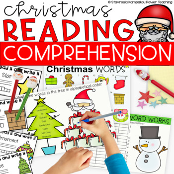Sweet Christmas Literacy Centers