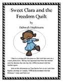 Sweet Clara and the Freedom Quilt Book Report and Lapbook