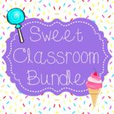 Sweet Classroom Decor Bundle {cupcakes, candy, ice cream}