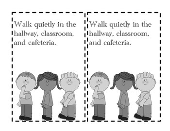Sweet Classroom Rules-a booklet to help reinforce classroom and school rules!