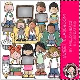 Sweet Classroom clip art - COMBO PACK - Melonheadz Clipart