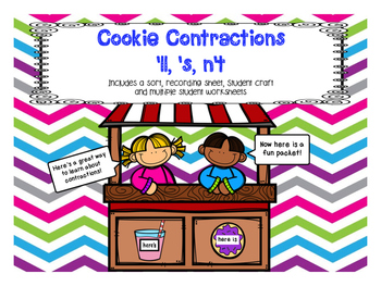 Sweet Contraction Cookies