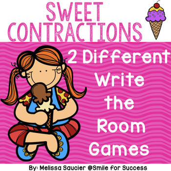 Sweet Contractions {Write the Room}