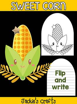 Sweet Corn - Jackie's Crafts Activity, Writing, Thanksgiving