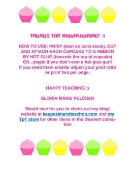 Sweet! Cupcake Info Banner