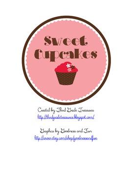 Sweet Cupcakes Math Game