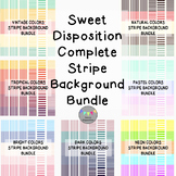 Sweet Disposition Complete Stripe Background Bundle