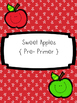 Sweet Dolch Word Apples { A Dolch Word Game Bundle Set! }