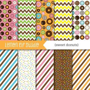 Sweet Donuts-Digital Paper (LES.DP06A)