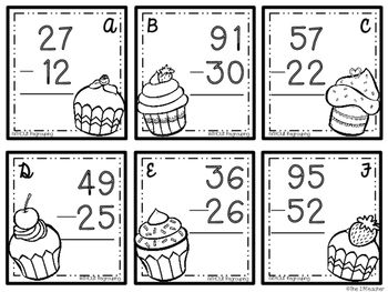 Sweet Double Digit Addition and Subtraction