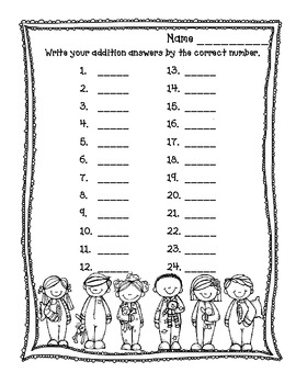 Sweet Dreams A 3-digit Addition and Subtraction Game