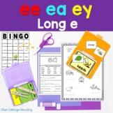 Sweet Dreams! A Long e Phonics Unit