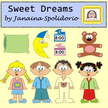 Sweet Dreams Cliparts