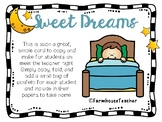 Sweet Dreams Confetti Card- Back to School or Meet the Tea