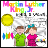 Martin Luther King, Jr. Craftivity in English and Spanish