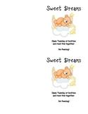 Sweet Dreams Ready Confetti