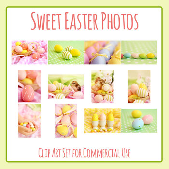 Sweet Easter Photos Clip Art for Commercial Use